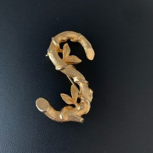 Vintage 1964 Sarah Coventry S Branch Brooch